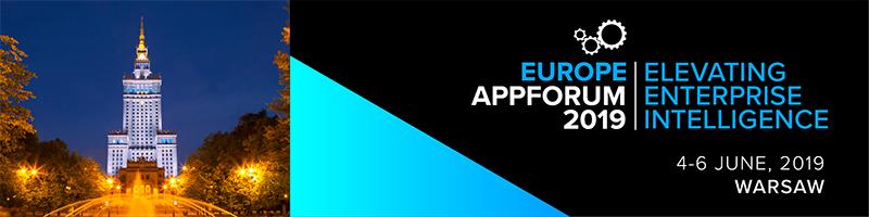 Europe AppForum 2019